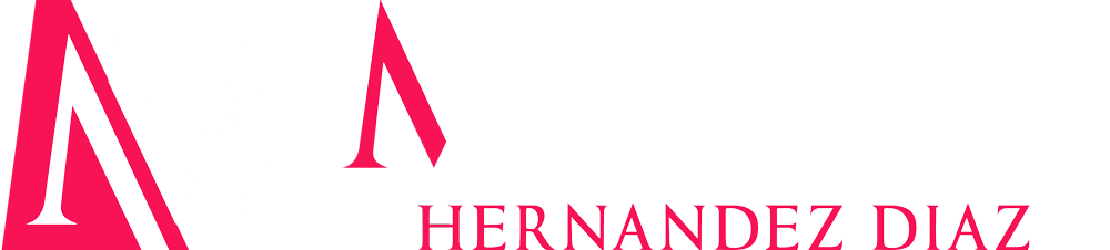 Marisol Hernandez Diaz Company Logo in white and pink